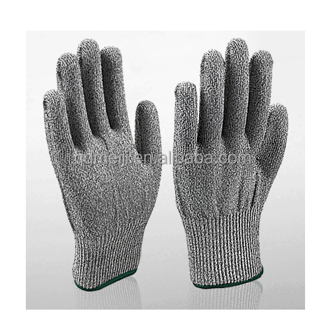 Factory price alibaba con China manufacturers HPPE anti glass cut resistant fabric safety work gloves