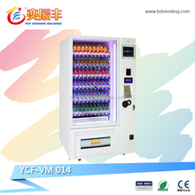 snack beverage book medicine refrigeration system vending machine with bill and coin acceptor YCF-VM014