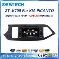 car radio multimedia player for kia picanto with RDS parking sensor bluetooth dvd gps radio
