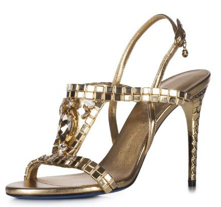 new designs high end shiny women party wear sandals