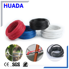 Huada wholesale good price PVC vegetable Plastic Twist ties