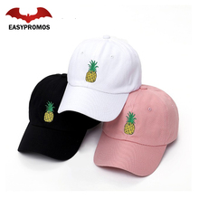 100% Cotton Fabric 6 Panel Custom Dad Hat Embroidered Logo Hat