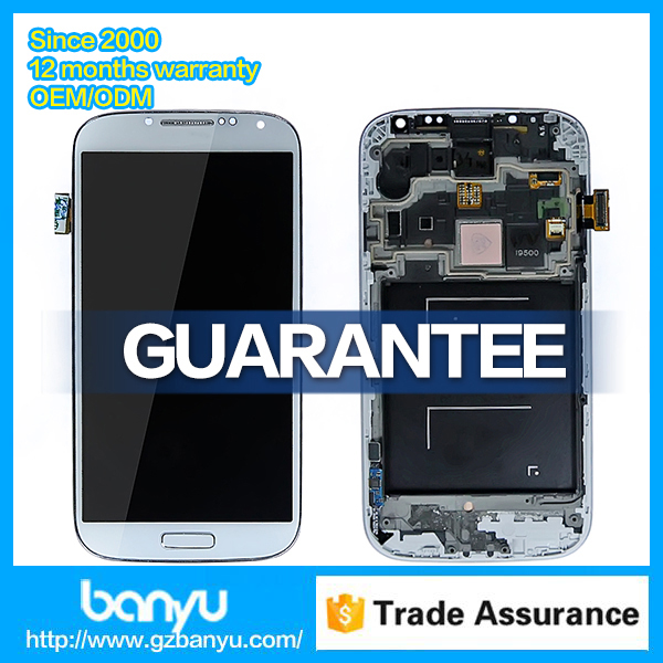 Good price clone display glass for galaxy s4 lcd digitizer