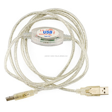 USB 2.0 Hi-Speed File Transfer Data Link Cable
