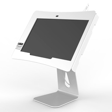 Tilting anti theft tablet security mount
