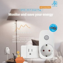 Smart home automation BroadLink SP3S smart weekly timer 220v electrical power meter plug socket