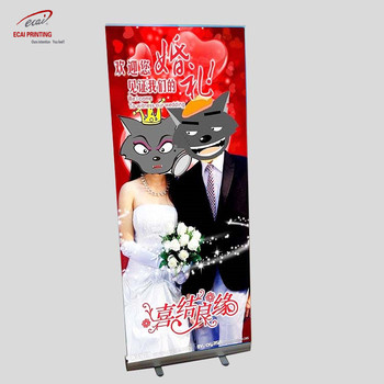 2018 hot sales roll up Banner Stands pop up banner, Aluminum Roll Up Display