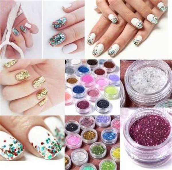 Nail Glitter Dust Nail Art Glitter Set/Nail Decoration/Nail Glitter Powder