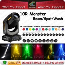 Robe pointe 10R moving head 280w beam spot wash 3 in 1 stage light