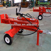 European standard vertical or horizontal automatic log splitter