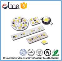 Single side White OSP 94V0 rohs pcb assembly for led made in liaoning