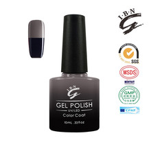 Private label gel nail polish color change perfect for young women