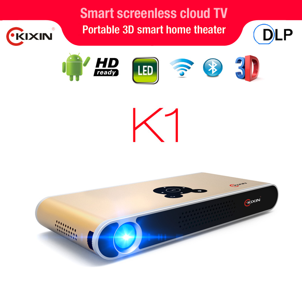 3d projection video projector led hd DLP wifi projector