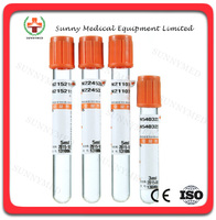 SY-L013 Medical vacuum blood test tube clot activator tube