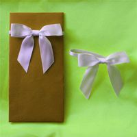 High Quality Elastic Loop Ribbon Bow
