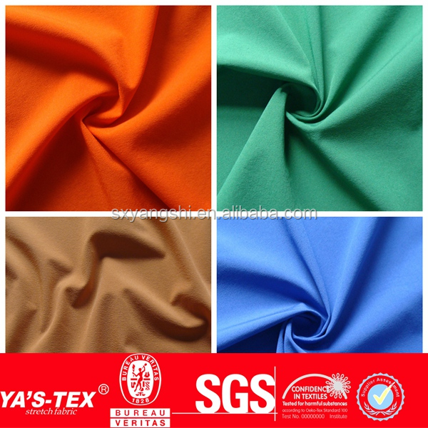 New Fashion Waterproof Polyester Spandex Fabric, 4 Way Stretch Fabric, Wholesale Fabric Spandex For Garment