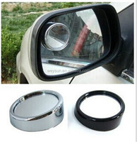 Wide Angle Round Convex Car Vehicle Mirror Blind Spot Rear View Messaging DHL Freeshipping