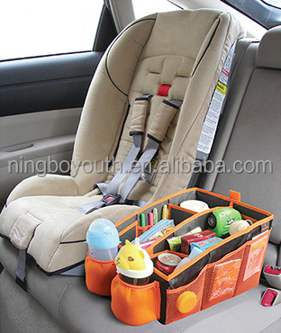 CO0012 Sundries Box Car Seat Organizer, Auto Organizer, Multi-Pocket Travel Sundry Hanging Storage Bag