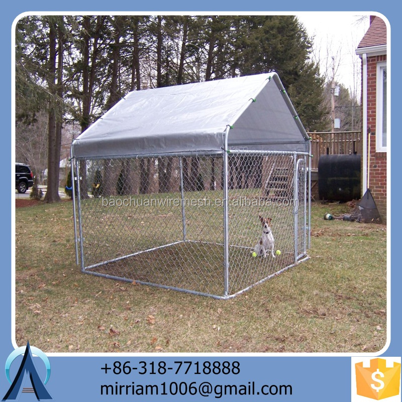 2016 hot sale safe convenient dog kennel/pet house/dog cage/run/carrier