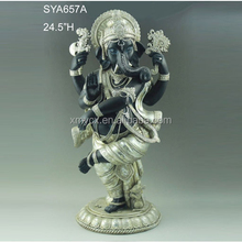 Religious hindu gods hot sale resin lord ganesha