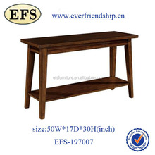 Cheap simple modern wood sofa side table for home furniture