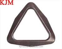 Special triangle ring plastic buckle for backpack bag parts