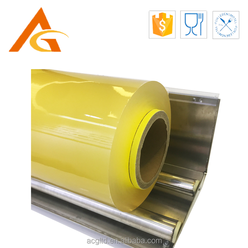 food grade PVC cling film plastic packaging film best fresh cling wrap