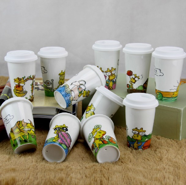 Quality OEM double wall glass coffee tea cups/mugs