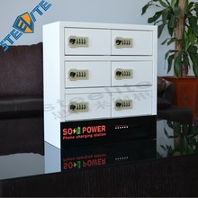 coin operated cell phone charging station/cell phone charging locker/public mobile phone charging station