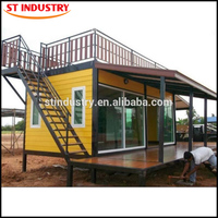 Usa finished 40 foot container house for living