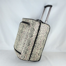 Cheap New arrival lightweight Grey travel luggage bags