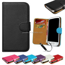 Luxury Flip Wallet Genuine Real Leather Case For Samaung Galaxy Note 4