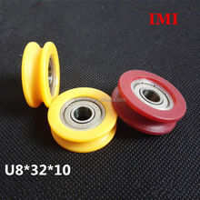 aluminum pulleys with nylon bushing