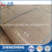 Hot sell China gold supplier chromium carbide overlay plate