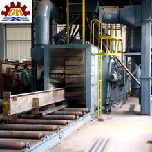 Thermo mechanically treated steel rollers moving shot blasting machine