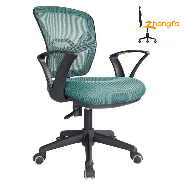 C04 Green tilting swivel mesh secretary office chair sex