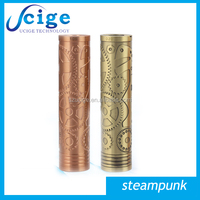 It's so cool !! 2014 new arrival & hottest steampunk e-cigarette steampunk mechanical mod on hot selling now in shenzhen ucige