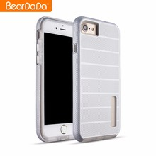 Superior quality Cross Stripes mobile phone case for iphone 7