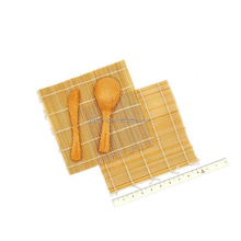 2 rolling mats, 1 rice paddle, spreader, 100% bamboo Sushi Making Kit