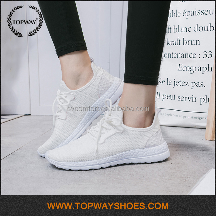 Cheap branded slim breathable mesh uk wholesale sports shoes