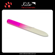 2015 New Arrival Glass Nail Files Tempered Glass Files Colorful Manicure Art Tools for Nail Polish