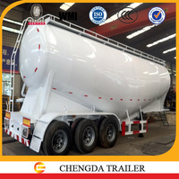 3 axles bulk cement semi trailer with weichai brand 4102 engine