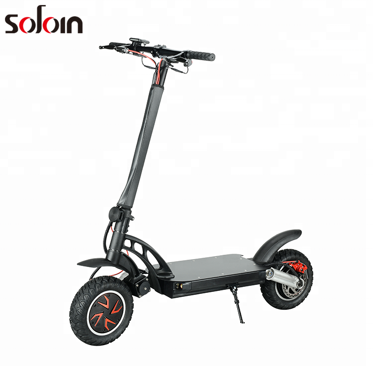 Adults off road scooter 10 Inch 2 wheel big power folding Electric motorcycle