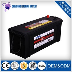 wholesale 12v120ah dry charged car auto battery