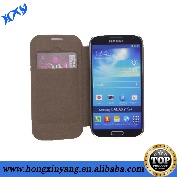 Wholesale Preferential Case for samsung galaxy s4 PU Leather Case.