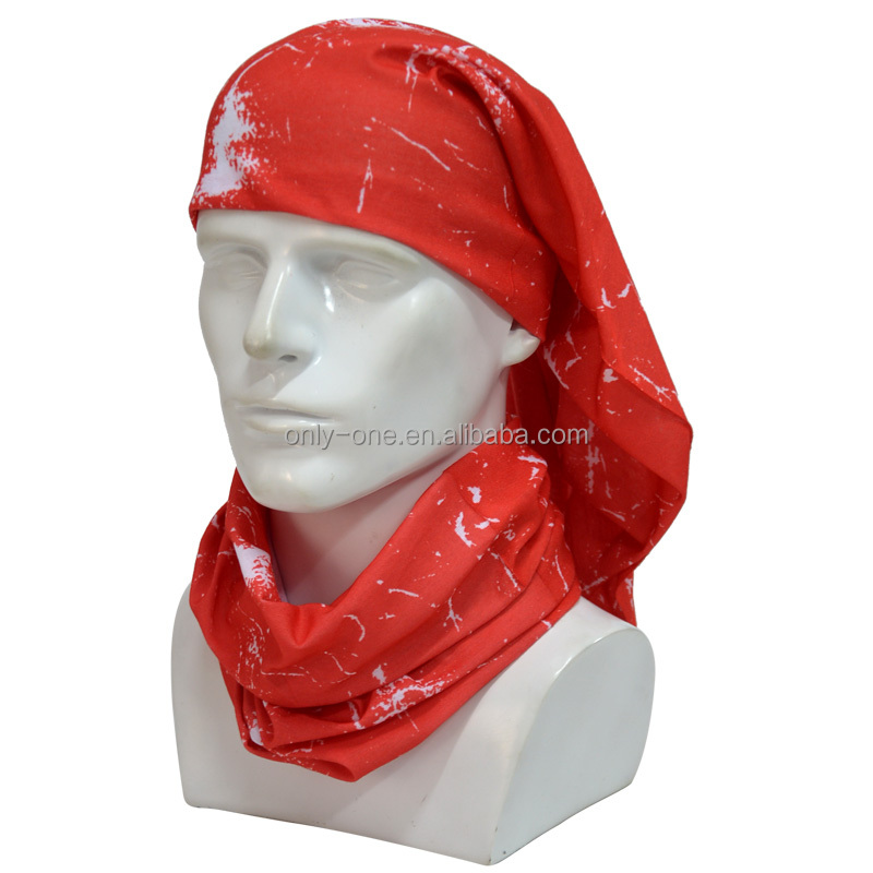 Fashion Multi-purpose Cotton Custom Print Bandana Motorcycle Riding