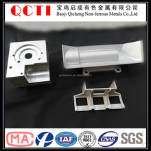 titanium alloied 2016 Baoji QCTI cnc complex machining parts