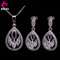Quality Fashion Jewelry high quality Jewelry Set with 18k gold color plated charm design for women gift