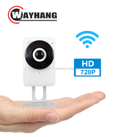High Quality HD 720P Wireless Wifi IP Network Camera 185degree Night Vision