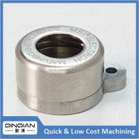 CNC milling turning machine parts and titanium components for LED